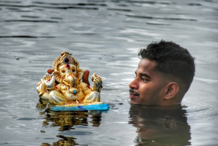 A window to my childhood memories of Ganesh festival, village traditions & communal harmony