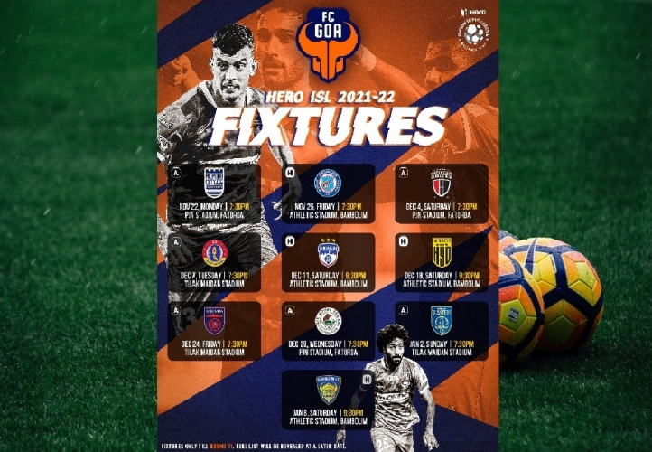 FC Goa to open ISL campaign against Mumbai City