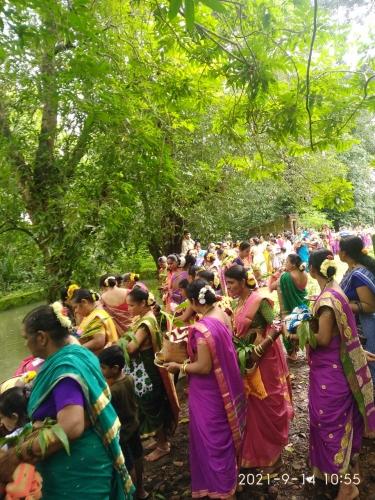 Gauri Pujan celebrated   in villages of Sattari