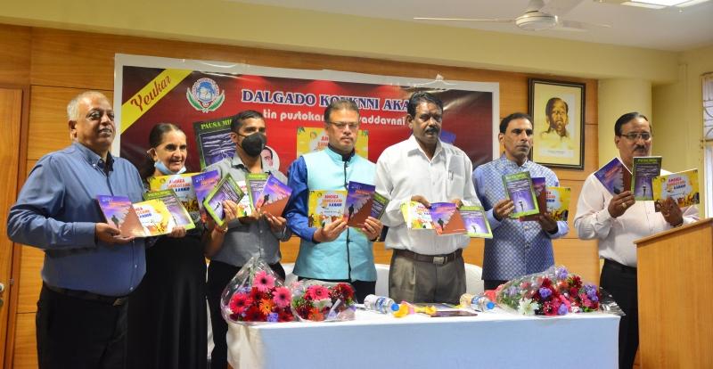 DKA releases three Konkani books