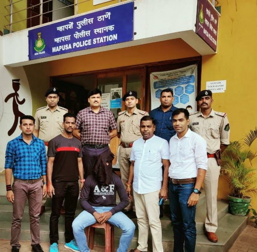 Moira local held with   ganja worth Rs 1 lakh