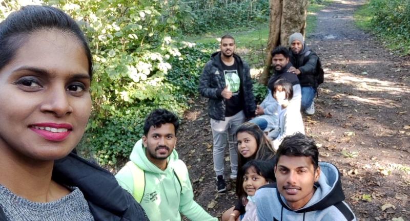 UK Goans take part in   Swabhimani Padyatra