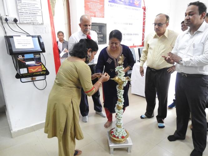 Legal services display board  opened at Panaji main post office