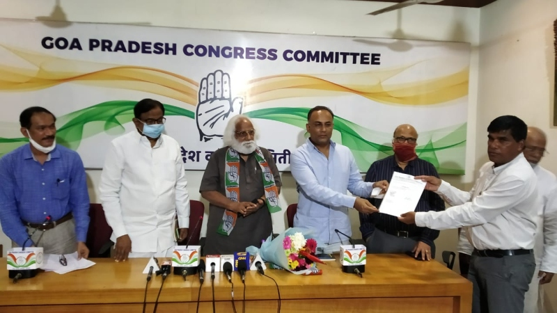 Afonso appointed Overseas   Congress Goa chairman