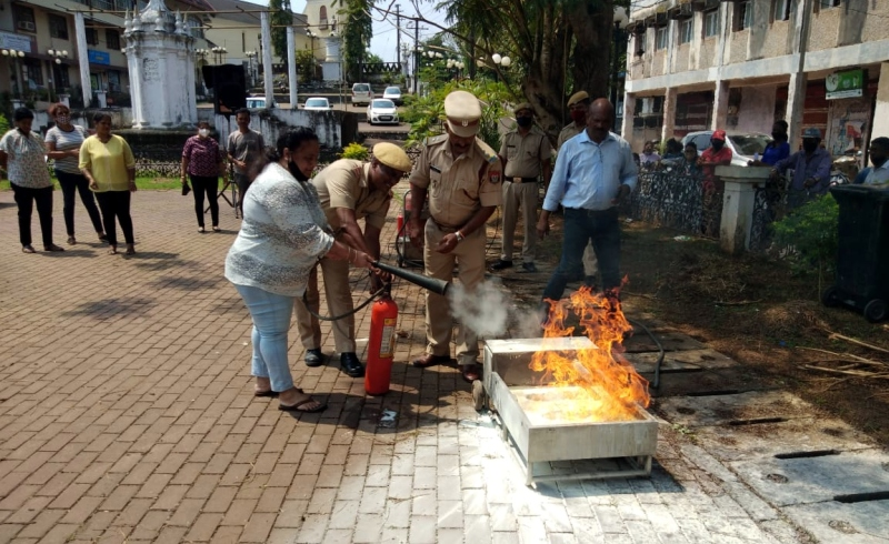Fire safety awareness programme   held at Agassaim