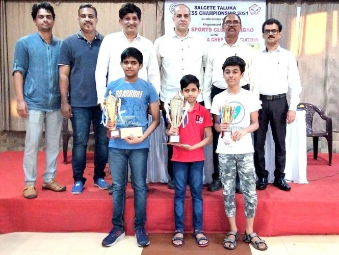Ethan clinches Salcete Open Chess Championship title