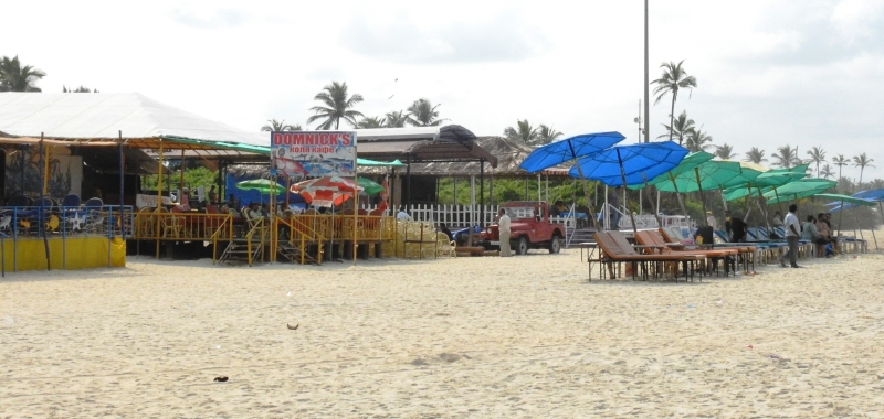 Shacks back in business as tourists start arriving