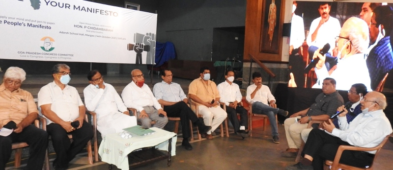 Citizens on board for preparation of Congress poll manifesto