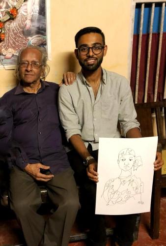 Prolific master of line Vamona Navelcar breathes his last at 91