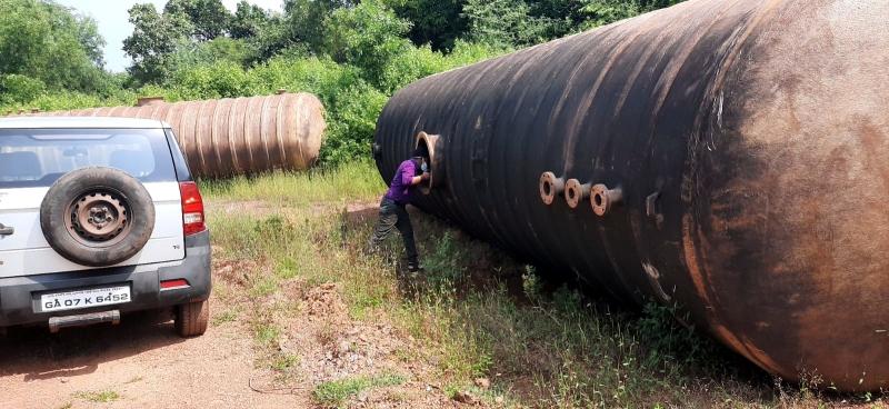 GSPCB checks containers   dumped in Azossim area
