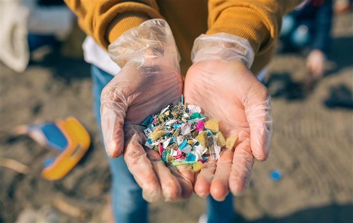 Airborne microplastics are settling in the most remote corners of the globe